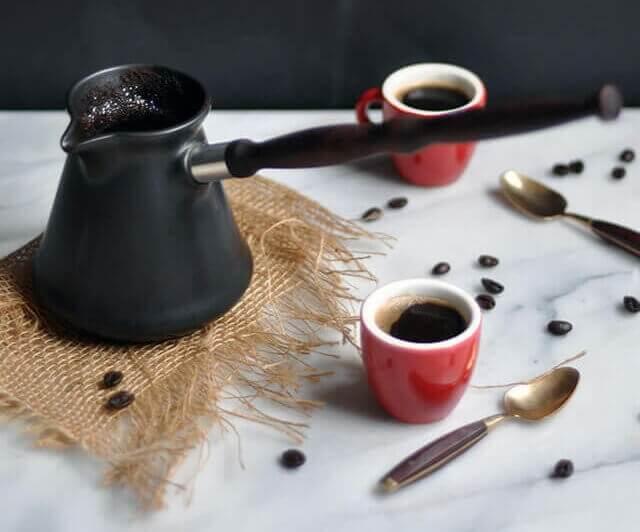 ایبریک و قهوه ترک