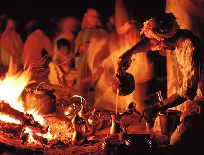 دم کردن قهوه عربی