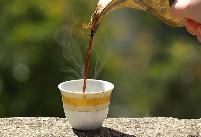 فنجان قهوه عربی