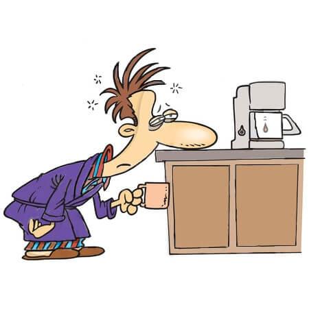 قهوه تهیه شده با ماشین قهوه