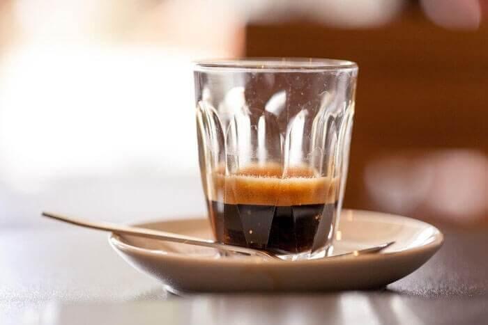 یک فنجان اسپرسو ریسترتو