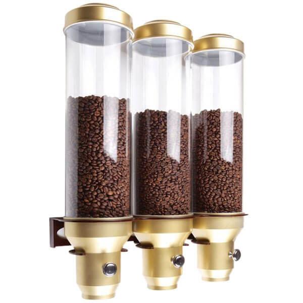سیلو یا باکس دانه های قهوه
