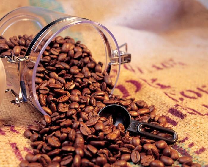 ظروف نگهداری قهوه