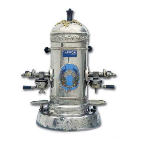 اولین ماشین های اسپرسو ساز