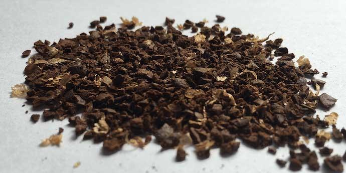 قهوه آسیا شده بسیار درشت
