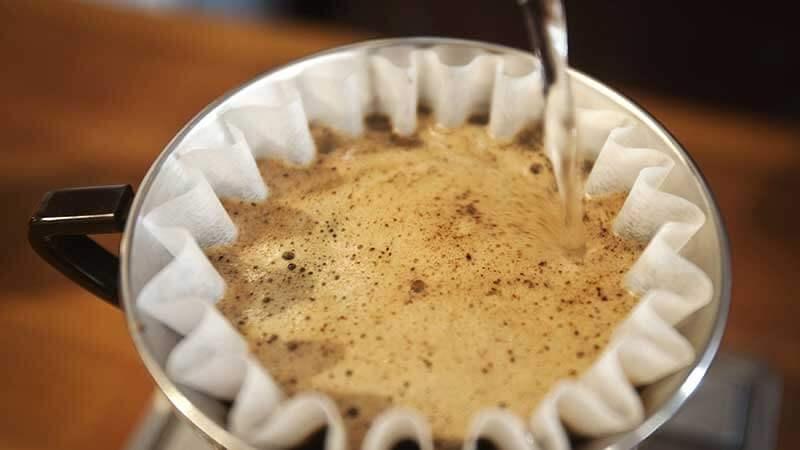 تهیه قهوه سیاه یا بلک کافی