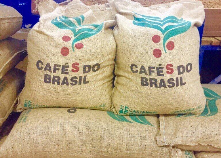 کیسه قهوه برزیل