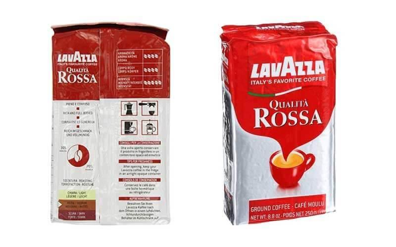 قهوه آسیاب شده لاواتزا