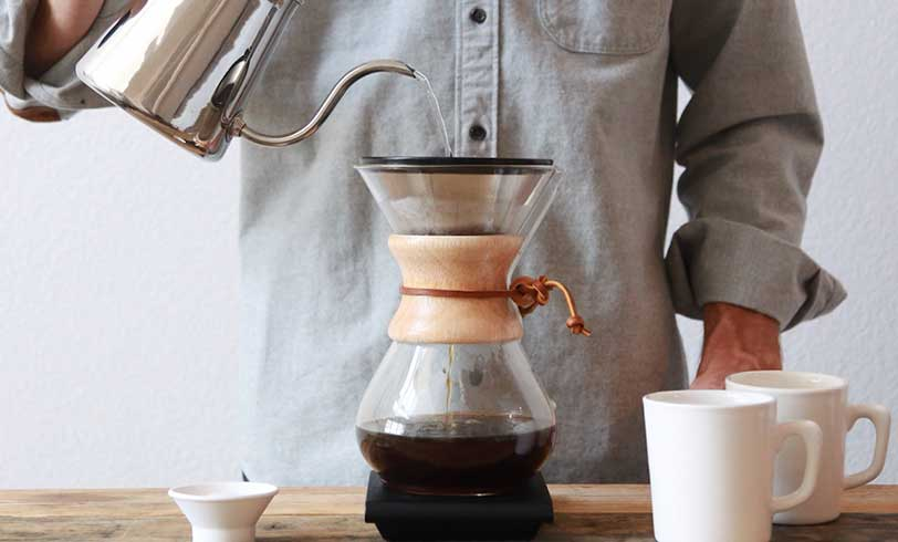 make coffee chemex