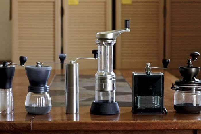 آسیاب های دستی قهوه