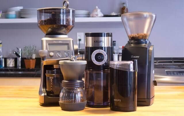 انواع دستگاه آسیاب قهوه