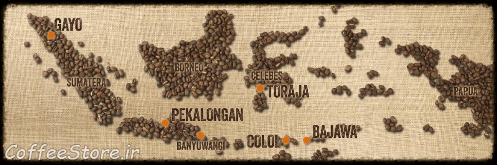 نقشه اندونزی