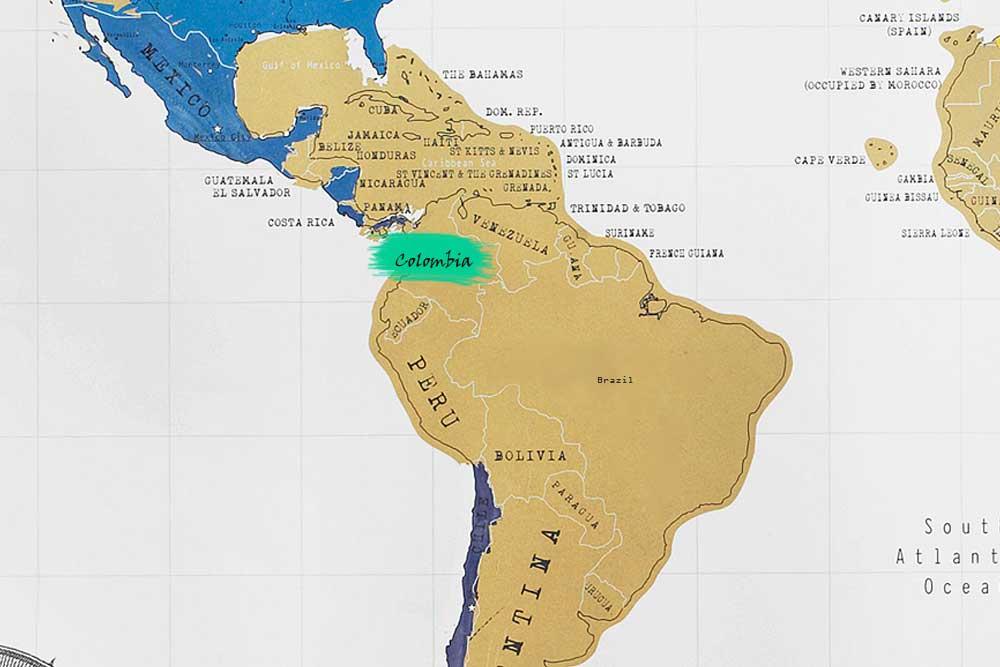 قهوه کلمبیا تازه برشت ملایم