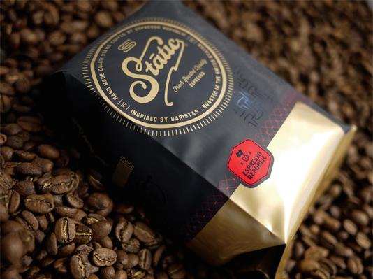 طراحی زیبا بسته بندی قهوه