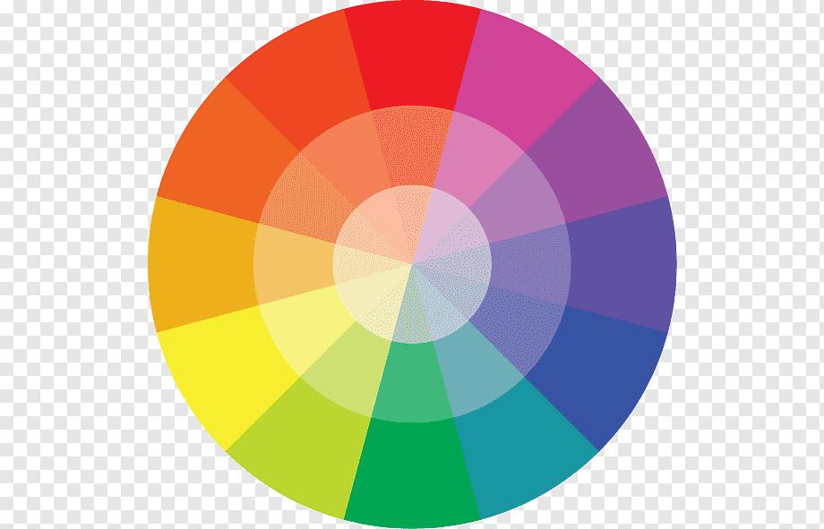 قهوه در کنار رنگها