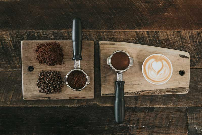 شکفت قهوه اسپرسو