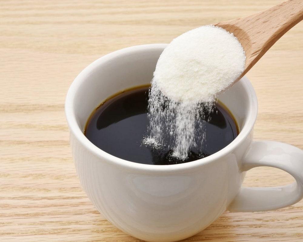 اضافه کردنپودر کلاژن به قهوه