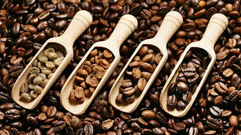 پروفایل های رست قهوه میزان رست شدن