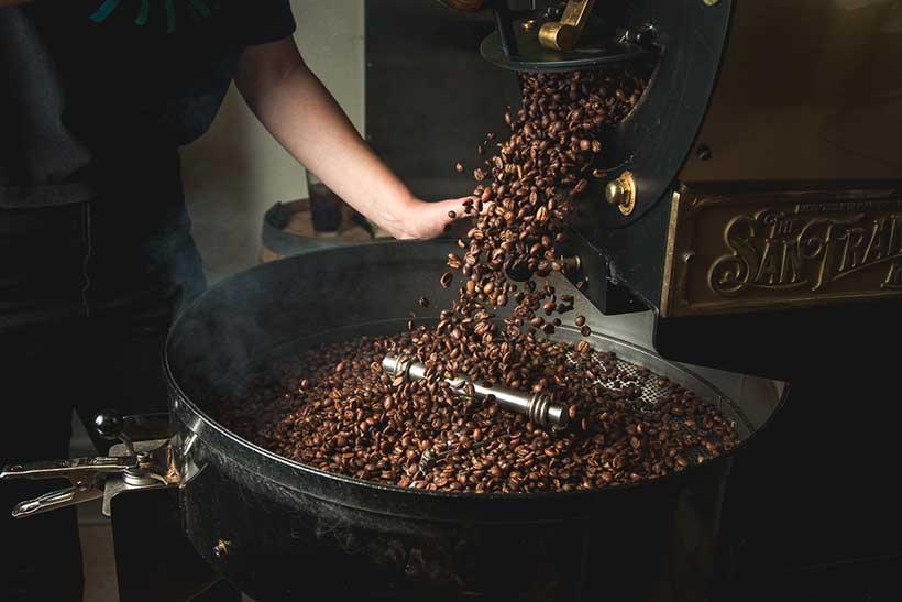 مراحل رست کردن قهوه